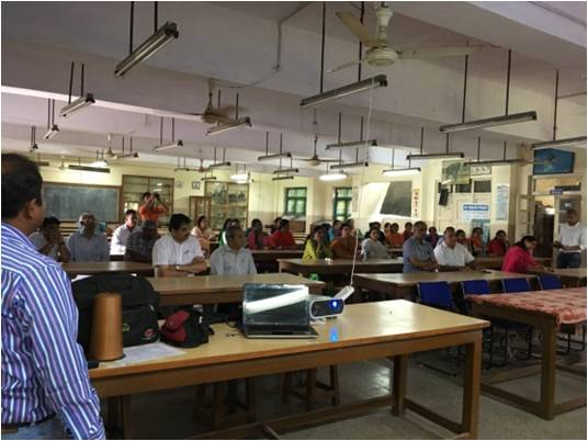 College workshop in Indore