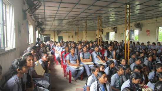 Workshop in Christopher Road Govt. Sonsored School