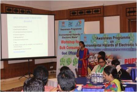 Bulk Consumers and Government officials workshop in Imphal