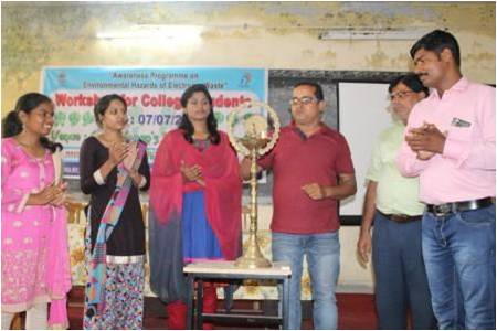 College workshop in Ranchi