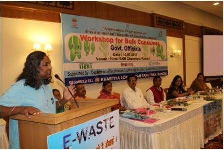 Bulk Consumers and Government officials workshop in Ranchi