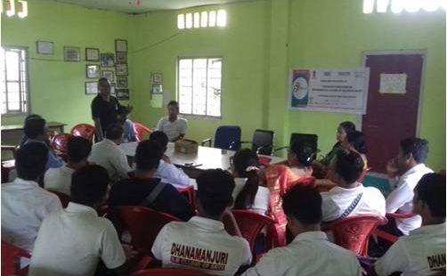 DM College Workshop in Imphal