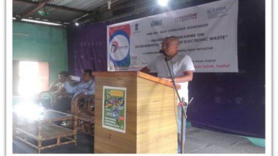 Refurbishers workshop in Imphal