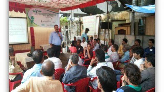 Informal sector workshop in Indore