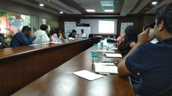 Day-2 of Informl Sector TOT in Haryana on 11th Sep, 2018