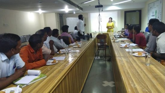 Day-1 of NGO & informal Sector TOT in Tamilnadu on 22 Oct, 2018