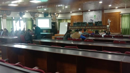 Day-3 of School & College TOT in Sikkim on 24th Oct, 2018