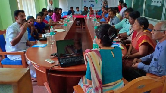 Day-1 of Informal Sector & NGO TOT in Kerala on 29th Oct, 2018