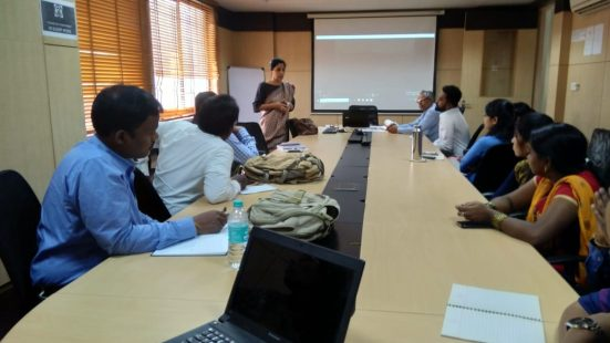 Day-1 of NGO & Informal Sector TOT in Bengaluru (Karnataka) on 12th Nov, 2018