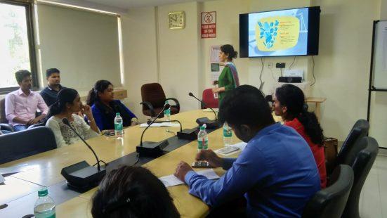 Day-3 of School & college TOT in Bengaluru (Karnataka) on 14th Nov, 2018