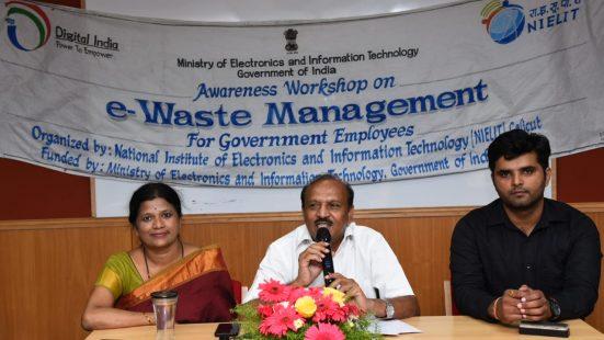 TOT on E-waste Awareness & Management