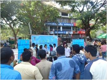 College Road Show in Bhubaneswar