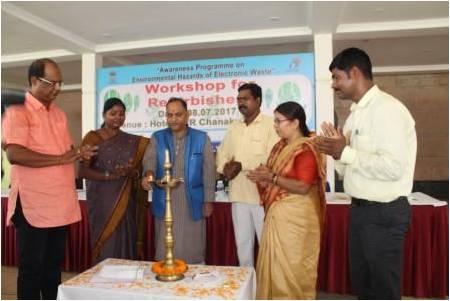 Refurbishers workshop in Ranci