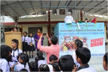 Puppet Show in Bishop Hartman Academy