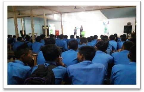 CC College Workshop in Imphal