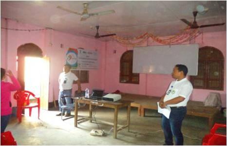MB college Workshop in Imphal