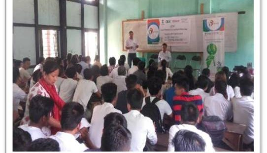 College Workshop in Imphal