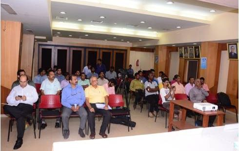 Informal sector workshop in Goa