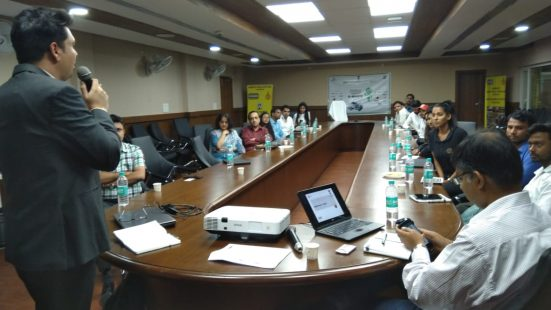 Day-1 of Informal Sector TOT in Haryana on 10th Sep, 2018