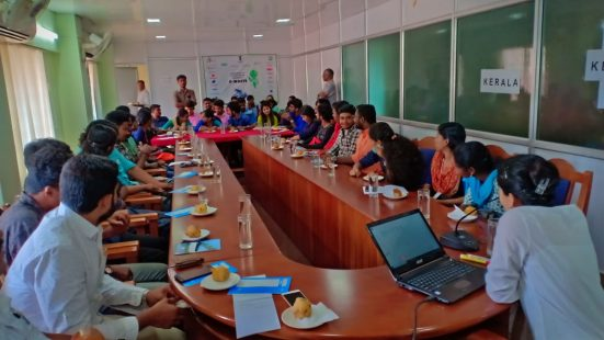 Day-3 of school & College TOT in Kerala on 31st Oct, 2018