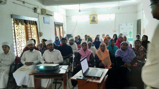Day-1&2 of NGO & Informal Sector TOT in Lakshadweep on 31st Oct & 1st Nov, 2018