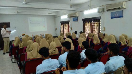 Day-3 of School & College TOT in Lakshadweep on 2nd Nov, 2018