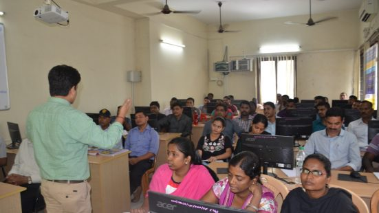 Three day Training Programme, Chennai