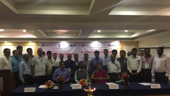 3 Day TOT on E –Waste Awareness & Management, 25-27 September , 2018, Bengaluru
