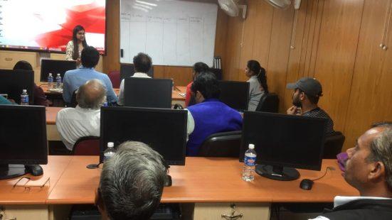 Day-1 of Informal Sector TOT in Jaipur (Rajasthan) on 19th Nov, 2018
