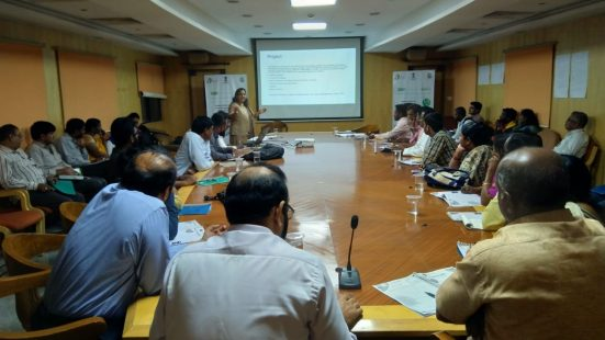 Day-1 of NGO & Informal Sector TOT in Hyderabad (Telengana) on 3rd Dec, 2018