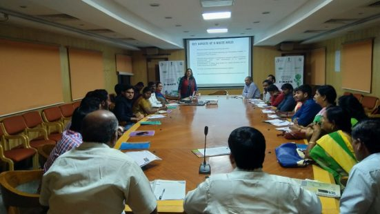 Day-2 of NGO & Informal sector TOT in Hyderabad (Telengana) on 4th Dec, 2018