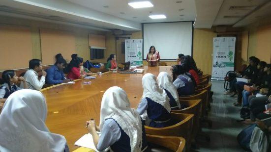 Day-3 of School & College TOT in Hyderabad (Telengana) on 5th Dec, 2018