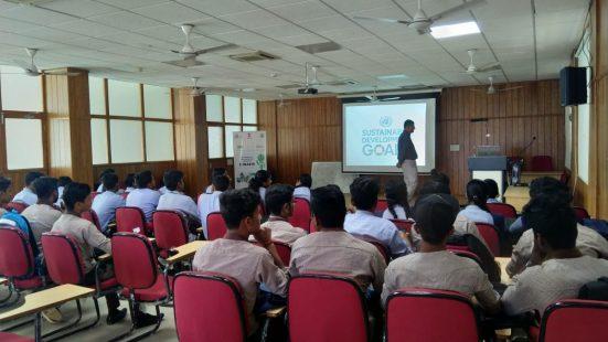 Day-3 of School & College in Tripura (Agartala) on 14th Dec,2018