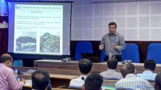 E-waste Workshop in West Bengal on 08th August, 2019